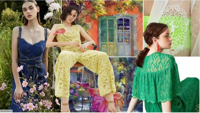 Lace Fabric Trend for Womenswear