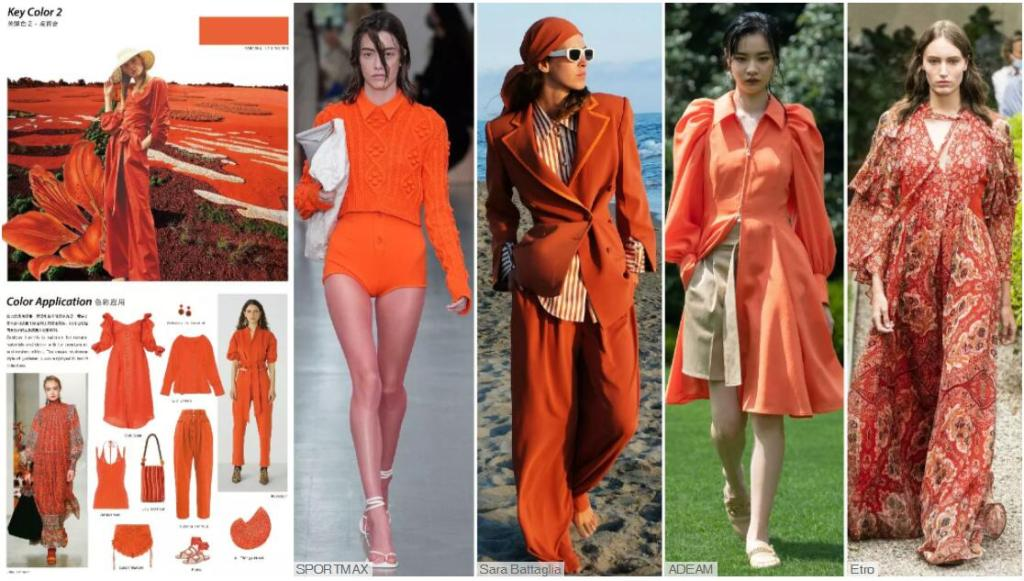 Womenswear Color Trend