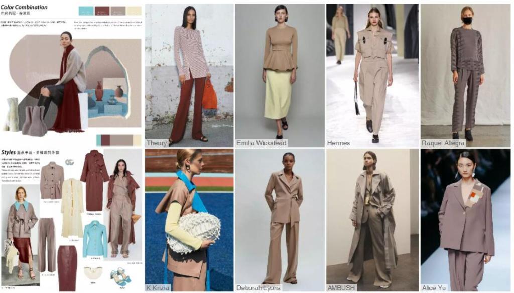 Womenswear Color Trend
