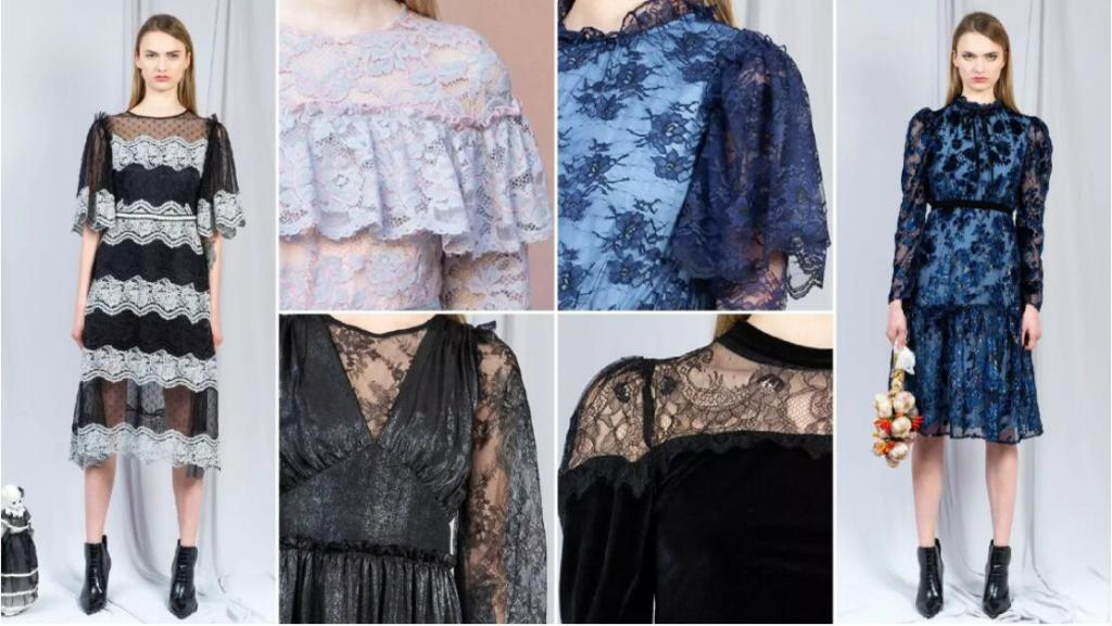 Watersoluable Lace dresses