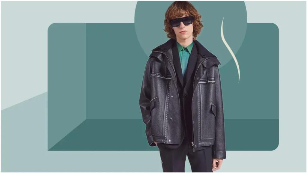 Men's Practical Light Business Leather