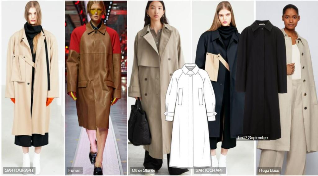 Women's Comfortable Tailoring Trench Coat